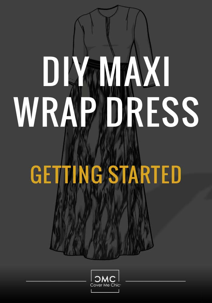 diy maxi wrap dress
