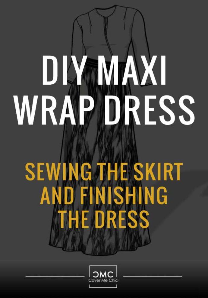 maxi wrap dress skirt