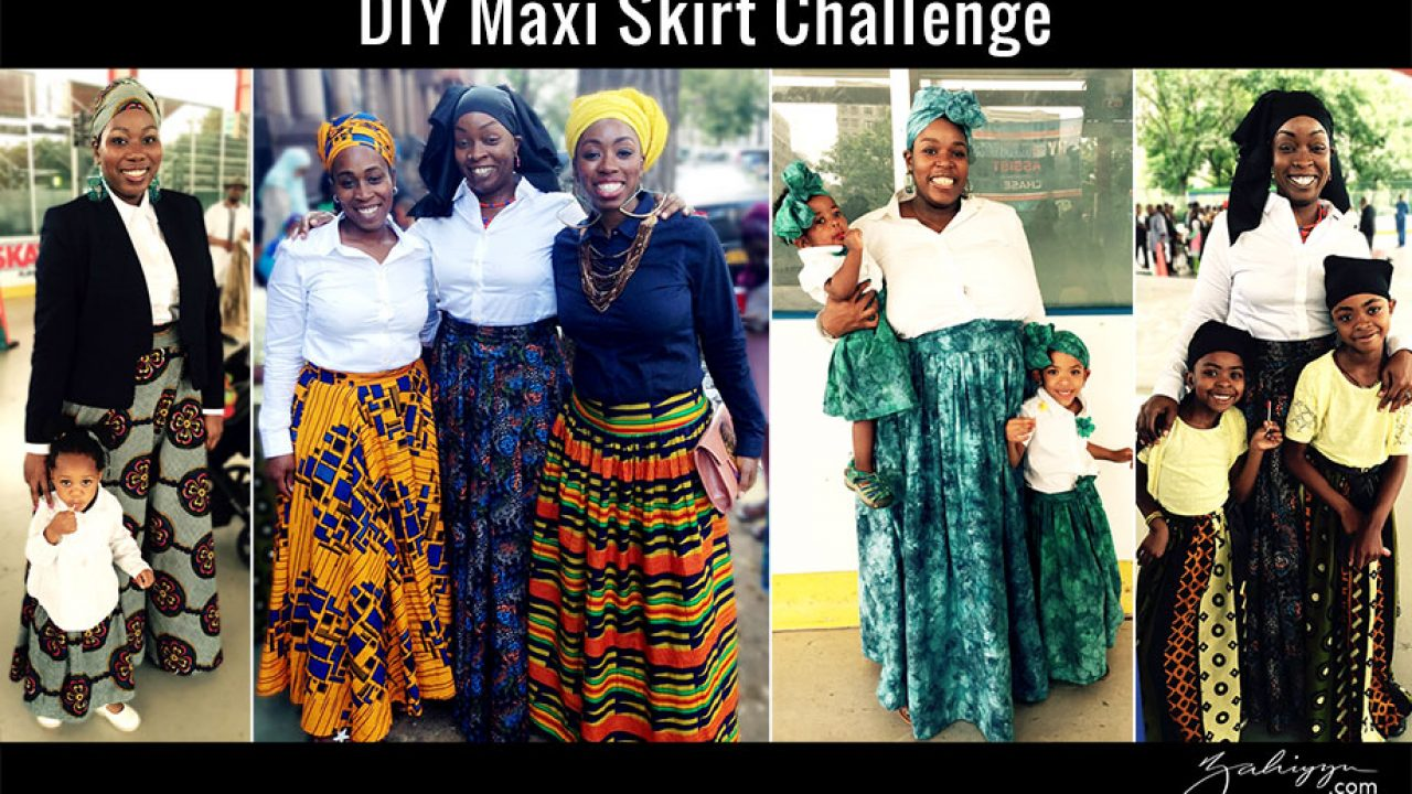 diy maxi pleated maxi skirt